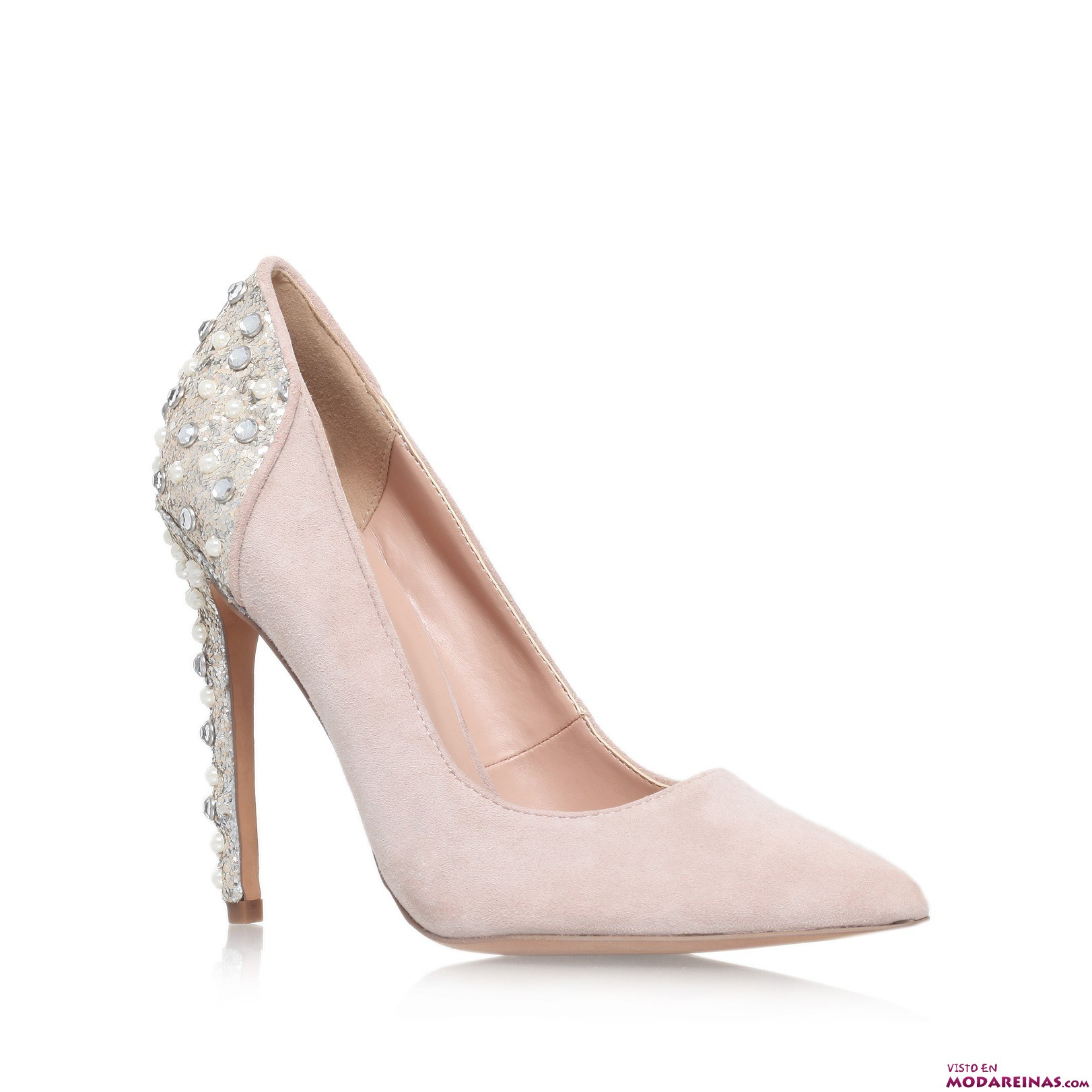 zapatos salón kurt geiger nude