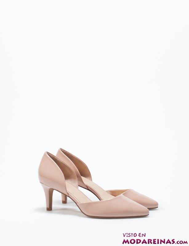 zapatos salón nude lefties