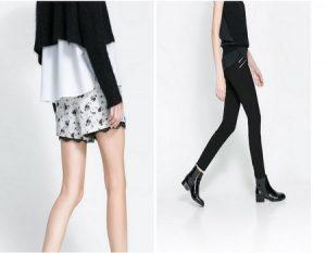 Pantalones de moda cortos y largos