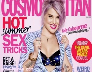 Kelly Osbourne portada de Cosmopolitan