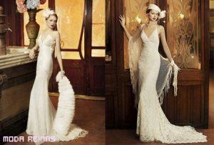 Vestidos para novias 2011 con estilo vintage