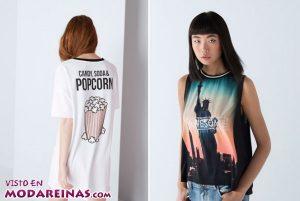 Novedades en las camisetas Bershka