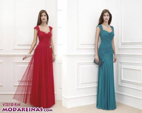 Vestidos Largos Elegantes Y A Todo Color Moda Reinas