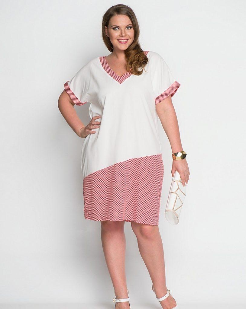 fc52dc0de03 Vestidos blancos para mujeres gorditas moda reinas jpg 814x1024 Vestidos  accesorios para gorditas